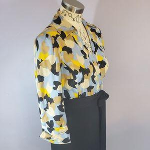 Diane Von Furstenberg Silk Brea Springs Wrap Dress